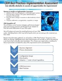 CRM Best Practices Assessment