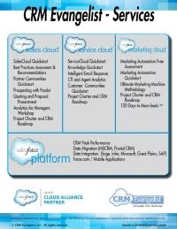 CRM Evangelist Services Fact Sheet