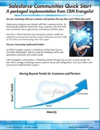 Salesforce Communities Quickstart Guide