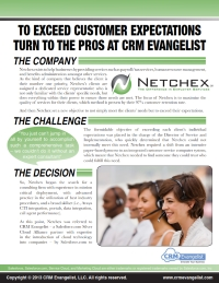 Netchex Customer Engagement Center: Salesforce Implementation Success