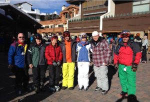 PHOTO: me and the gang at the ski resort.
