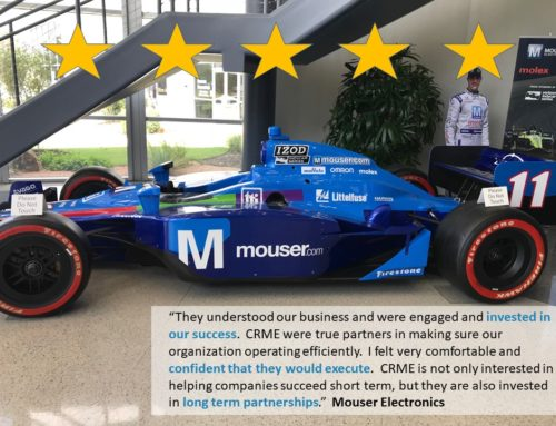Mouser Electronics' Customer Engagement Center: Salesforce Implementation Success